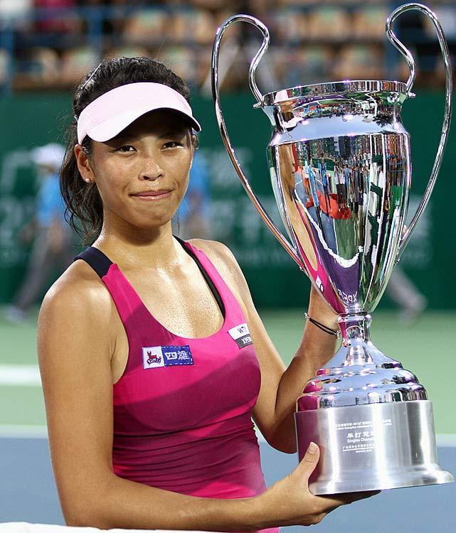 def. Laura Robson 6-3, 5-7, 6-4 WTA International, Hard, $220,000 Guangzhou, China