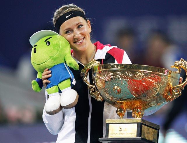 def. Maria Sharapova 6-3, 6-1 WTA Premier, Hard, $4,828,050 Beijing