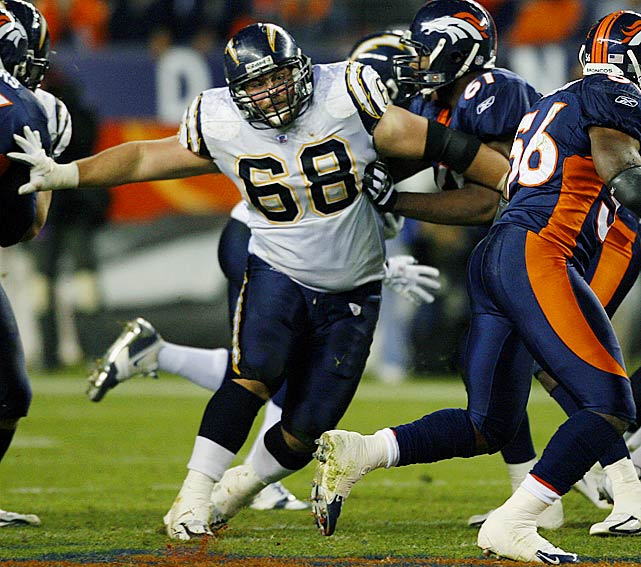 Dielman, 31, was a four-time All-Pro guard, but finished 2011 on injured reserve after suffering a seizure following a concussion during an October game. Reportedly, Dielman initially wanted to return to the Chargers in 2012, but changed his mind after doctors told him his long-term quality of life would be markedly better if he retired.