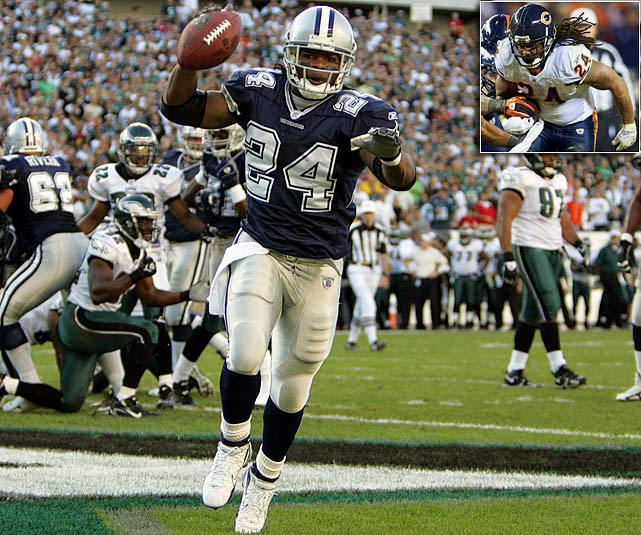 Bears running back Marion Barber has decided to hang up his cleats after seven years in the NFL.  Barber was originally drafted by the Dallas Cowboys in 2005, where he spent six of his seven seasons in the NFL.  He had his best performance in 2007 when he carried 204 times for 975 yards and scored 10 touchdowns.  He was picked-up by the Bears in 2011 where he recorded 114 carries for 422 yards and scored six touchdowns. However, he will be most remembered for two crucial mistakes he made last season that allowed the Broncos to make a comeback and win 13-10 in overtime, costing the team a playoff spot.