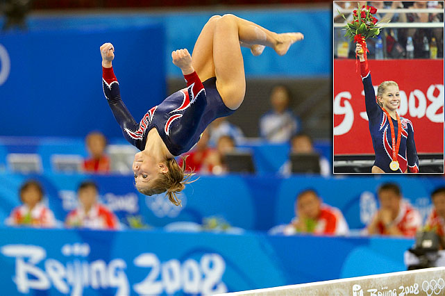 Only Michael Phelps, Nastia Liukin and Natalie Coughlin won more medals than Johnson at the 2008 Olympics. Johnson, who retired at 20, was a four-time medalist in Beijing, including gold on the balance beam. She blew out her left knee in a 2010 skiing accident and was never able to fully recover from the injury. She called it a career four days before the national championships. Her final competition was the 2011 Pan American Games.