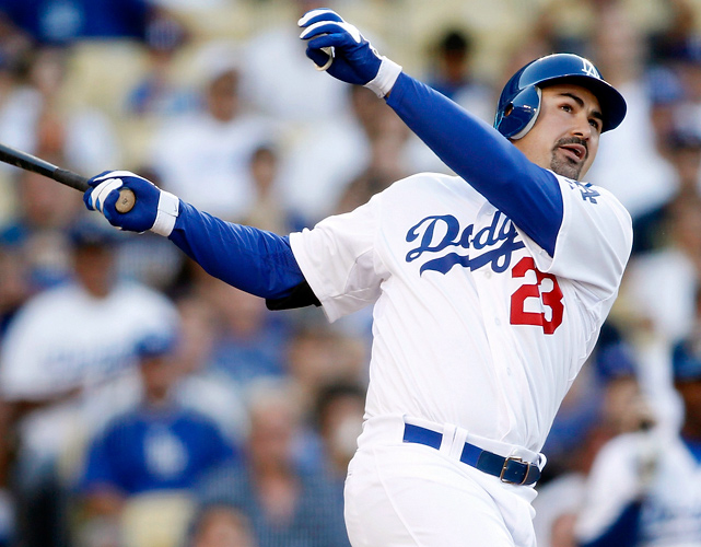 In what has been called the biggest deal in baseball history, the Dodgers new ownership group signed off on a late-August deal in which the team acquired three former All-Stars from the Red Sox -- Adrian Gonzalez, Carl Crawford and Josh Beckett -- and the more than $250 million remaining on their contracts in exchange for one major league player (James Loney), two prospects and two players to be named later.