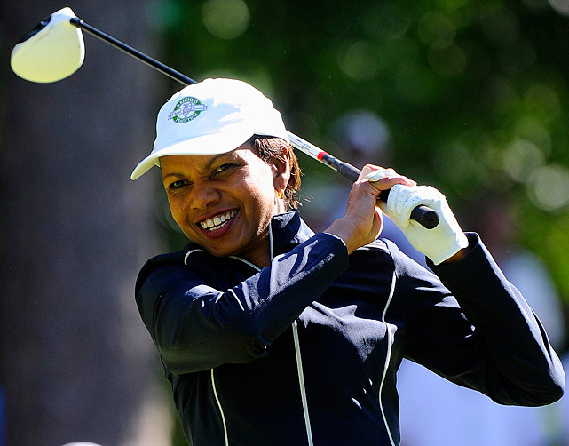 For the first time in its 80-year history, Augusta National Golf Club has female members.  The home of the Masters, under increasing criticism the last decade because of its all-male membership, invited former Secretary of State Condoleezza Rice and South Carolina financier Darla Moore to become the first women in green jackets when the club opens for a new season in October.  Both women accepted.