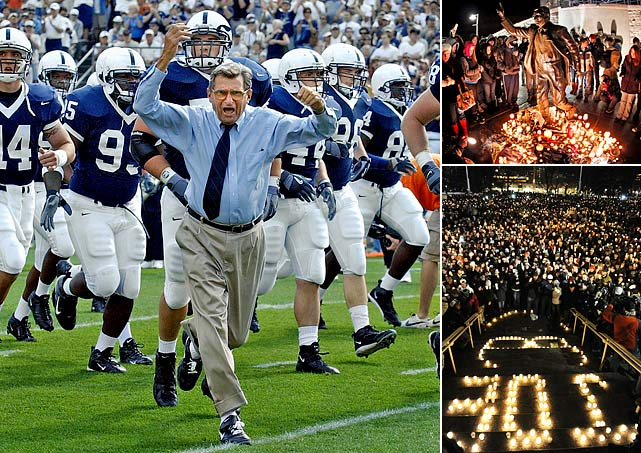Joe Paterno, the longtime Penn State coach who won the most games in Division I college football history before being fired in November 2011 amid a child sex abuse scandal, died of lung cancer on Jan. 22. He was 85.