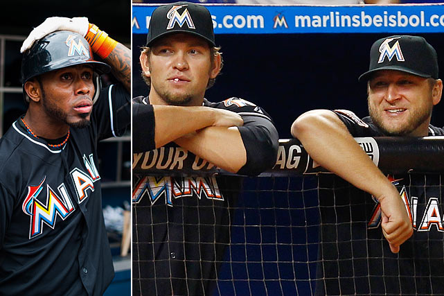 The Blue Jays and Marlins reportedly executed a staggering 12-player trade that will send five starting players from the 2012 Marlins -- shortstop Jose Reyes, pitchers Josh Johnson and Mark Buehrle, catcher John Buck and multi-position speedster Emilio Bonifacio -- to Toronto in exchange for shortstop Yunel Escobar, starting pitcher Henderson Alvarez, backup catcher Jeff Mathis and four prospects. The deal finds the Blue Jays assuming $167.75 million worth of contracts, led by those of Reyes ($96 million over the next five years plus a 2018 option) and Buehrle ($52 million over the next three years) who were just signed by the Marlins last offseason. The trade is pending physicals, but many Marlins fans are upset with the deal since the team just moved into a new publicly financed ballpark.