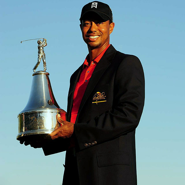 Ending a drought that stretched back to the 2009 BMW Championships outside Chicago, Tiger Woods won the Arnold Palmer Invitation on March 25, restoring some order to the golf world. In the wake of tabloid-ready infidelities that led to his divorce, Woods went 728 days without a victory and some wondered if he would ever win again. His 72nd PGA title put him one behind Jack Nicklaus, who's No. 2 on the alltime list.
