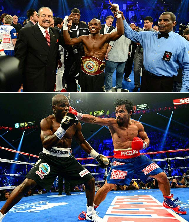 Manny Pacquiao took on Timothy Bradley on June 9 in one of the most highly anticipated fights of the year.  Controversy ensued when Bradley was awarded a split-decision win with two of the three judges scoring it  115-113 in his favor.  The WBO announced it would review the outcome.