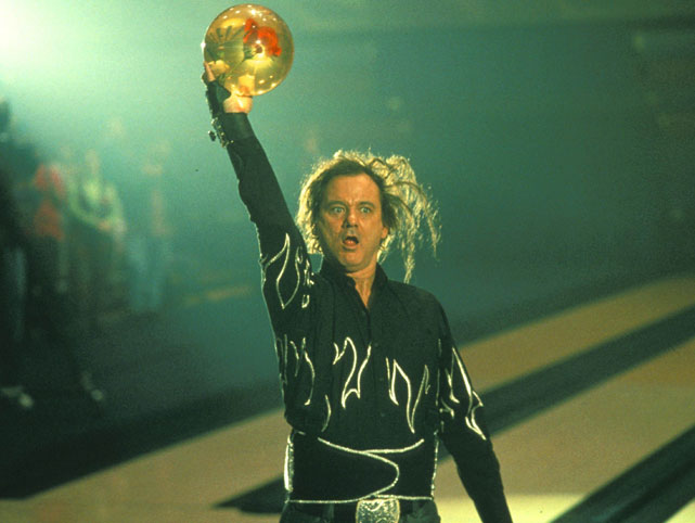 Murray plays Ernie McCracken in the 1995 bowling movie  Kingpin .