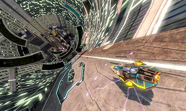 Sony's racer leaps into the future and dumps you into the world of the anti-gravity racing league. This is a no-frills racing game, plain and simple. You pick a spaceship and run through the courses until you've won all of them. There are power ups to help you speed by opponents as well as weapons to take down the ships in front of you. The Vita analog control sticks work smoothly as your steering wheel. A couple of online options spice up the action, including the ability to play against PS3 gamers, but the career mode is very short and not terribly challenging. WipEout 2048 is fun in short bursts but it ultimately could use a little more variety.  Score: 7 out of 10