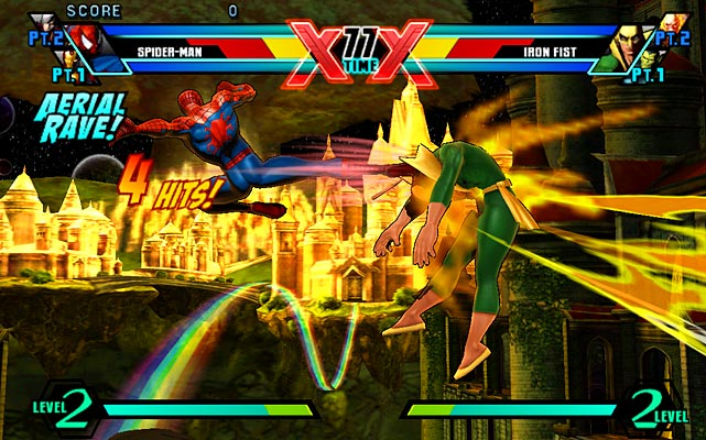What self-respecting handheld unit would be complete without a good fighting game? Ultimate Marvel vs. Capcom 3 answers the bell with a solid port from its console brethren. The game's graphics are very good, again showing off the Vita's excellent ability to render colors, effects and motion. There's plenty of replay value with a host of multiplayer options and 48 fighters to choose from. Unfortunately, the optional touch controls in Ultimate Marvel vs. Capcom 3 make combat too easy and drain the satisfaction of learning the button/d-pad controls. Multiplayer matchmaking and spectator options add plenty of replay value as well.  Score: 8 out of 10