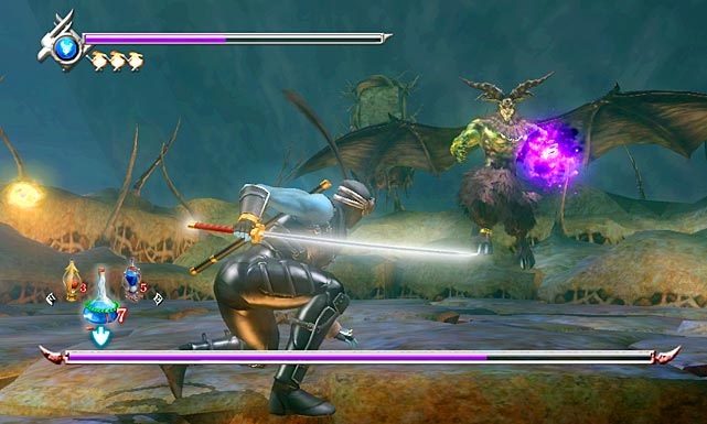 Our favorite ninja, Ryu Hayabusa, is back to slice and dice through hordes of bad guys. Ninja Gaiden Sigma Plus is another ported title, but it does a good job in utilizing the Vita's front and rear touch screens, helping distinguish this version from its predecessors. The third person action in the game is fast and furious, though wonky camera movements and angles sometimes spring up at very inopportune times. The graphics in Sigma Plus don't disappoint, and if you've never played Ninja Gaiden, this is a great entry point to the franchise.  Score: 8 out of 10