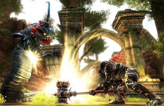 As the brainchild of fantasy writer R.A. Salvatore, master monster creator Todd McFarlane and designer Ken Rolston (to say nothing of being the first game from Curt Shilling's 38 Studios), Kingdoms of Amalur: Reckoning exits the gate with high expectations. It's a third-person action RPG, set in -- surprise, surprise -- a world that needs saving from a mysterious person of foretold power: you. Players can mold their character in whatever direction they desire, much more deeply than a game like Fable which KoA:R superficially resembles. The games skill trees and class system are adaptable to most play styles, and all of them are fun. Magic feels powerful and combat is surprisingly responsive and fluid, more like Arkham City or God of War than Skyrim or World of Warcraft. The graphics are better than serviceable, though they lack the grandeur of Skyrim, and the conversation system is downright primitive, but there are dozens of hours of really solid gameplay for the RPG fan.  Score: 9 out of 10    VERDUCCI: From games to gaming, Curt Schilling on, well, pretty much everything