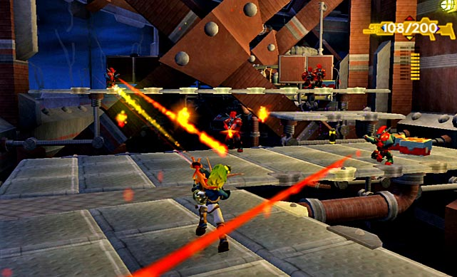 Jak and Daxter Collection is the latest HD-ified rerelease of previous generation classics, and platforming fans won't want to miss it. The value-priced trifecta includes three of the most celebrated PS2 platformers by Uncharted developer Naughty Dog: Jak and Daxter: The Precursor Legacy, Jak II and Jak 3. Fans who played them on the PS2 will find them exceptionally well-rendered, with bright, sharp visuals and enjoyable voice work intact. Modern gamers may find some of the games' frustrations more acute, with some unskippable dialogue sequences and a frustrating in-game camera. The plot gets steadily darker over the trilogy, as the main character becomes more fleshed out and the gameplay and action more varied. Despite the shortcomings, most of what's here is worth a look, as the game's characters, level design, platforming and gunplay were top-shelf in 2001 and remain very enjoyable today.  Score: 8 out of 10