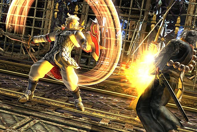 SoulCalibur V arrives at a real watershed time for fighting games. Last year's Mortal Kombat reboot set the bar for what gamers should expect from modern fighters, while Super Street Fighter IV and Ultimate Marvel vs. Capcom 3 continue to captivate fans of the genre. SC V, actually the sixth game in the series, continues the series semi-3D fighting legacy with a deep bench of fighters and the modes you'd expect, but with few genuine surprises. The game's story mode is laughably thin, telling the absurd story through voiced-over still drawings, and does little to teach beginners about the various move sets. Learning the intricacies of the game at all is a challenge because of the peculiar move scheme outlined in the instruction book, but button mashers will do fine for a while. The online mode works quickly and simply, though be prepared to get consistently pummeled many, many times: the online crowd is nothing if not dedicated. SC V doesn't blaze any new fighting ground, but fans of the series will probably enjoy the journey.  Score: 8 out of 10