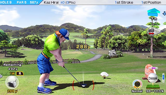 The Hot Shots series has done a great job of injecting the uptight and staid world of golf with a little color. World Invitational features all the crazy characters wearing crazy outfits you're used to. The game also ports over the same sturdy power bar swing mechanic. The Vita's touch screen is put to use by letting you select a variety of views on every shot. You can also adjust your aim using the rear screen. Both of these are simple and natural uses of the Vita's touch screen functionality. The game is all about fun, but you have a variety of ways to compete. Career mode let's you develop one character, while online play allows for competition with friends or with strangers in a daily tournament. A gameplay engine that's easy to pick up but hard to master will have you returning to the links early and often.  Score: 8 out of 10