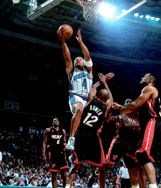 Wesley spent 14 years in the NBA despite going undrafted out of Baylor. The 6-foot guard averaged at least 11.9 points in 10 consecutive seasons, including a career-high 17.2 with the Hornets in 2000-01.