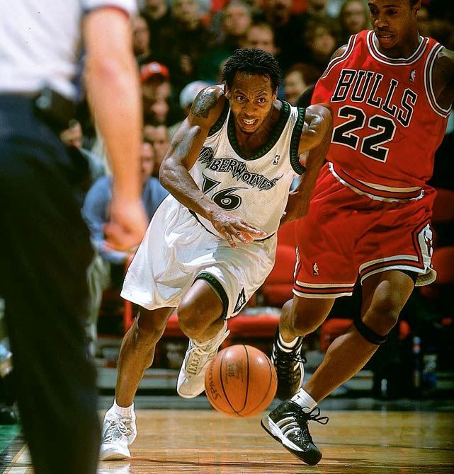 Hudson, proud that he was overlooked in the 1997 draft, released an album  Undrafted  in 2007. The Southern Illinois guard played 11 years in the NBA, averaging 9.0 points and 3.4 assists. He averaged a career-high 14.2 points as a starter for the 51-win Timberwolves in 2002-03.