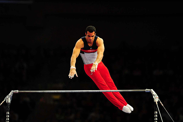 ... The American Cup gold medalist is fine now, especially following a high-bar performance that included four catch-and-release moves and a double-twisting double layout. ...