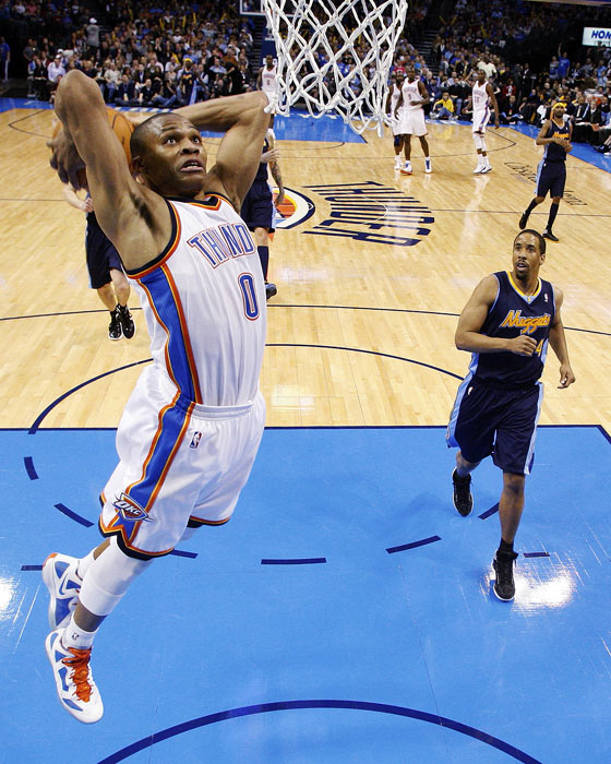 Blazers Thunder Reddit: Best NBA Performances Of 2011-12