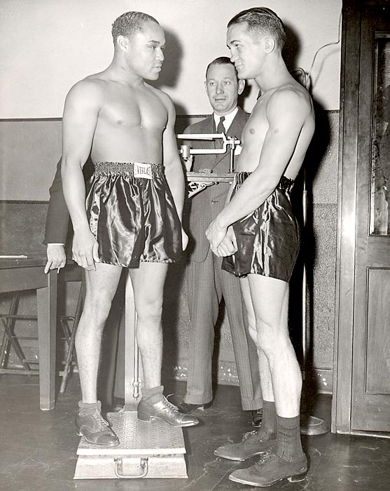 Featherweight champion 1937-38; lightweight champion 1938-39; welterweight champion 1938-40. Pro record: 151 wins, 101 KOs, 21 losses, nine draws.