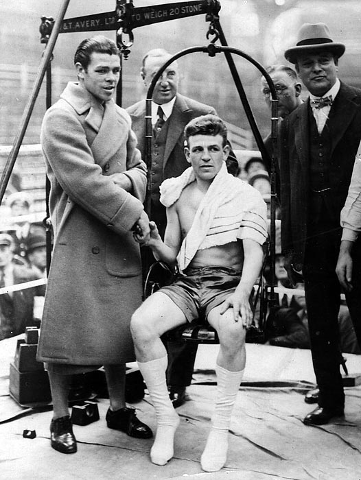 Welterweight champion 1922-26; middleweight champion 1926-31. Record: 93 wins, 60 KOs, 19 losses, four draws, 46 no-decisions.