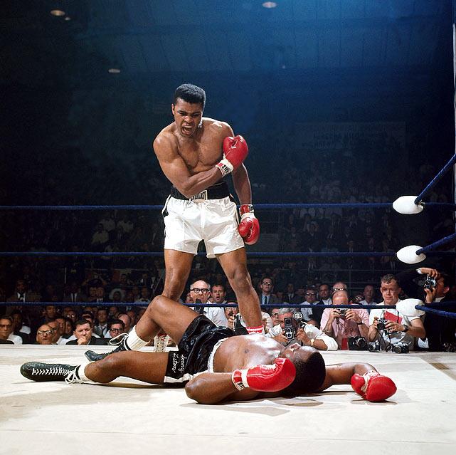 Heavyweight champion 1964-67, 1974-78 and 1978-79. Pro record: 56 wins, 37 KOs, five losses.