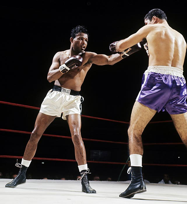 Welterweight champion 1946-51; middleweight champion 1951-52, 1957-58 and 1958-60. Pro record: 175 wins, 109 KOs, 19 losses, six draws.