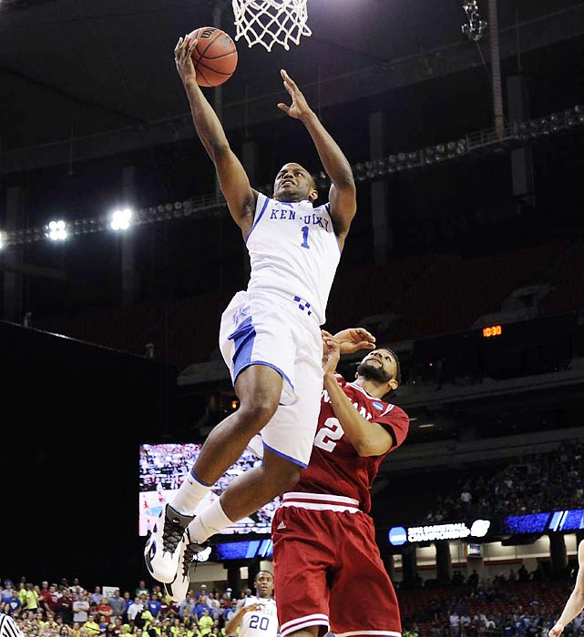 "Looking to avenge its December buzzer-beater loss to Indiana, Kentucky came out swinging in the Sweet 16. The Wildcats handed Indiana a 102-90 loss. ""It was a war and Indiana played great,"" Kentucky coach John Calipari said. ""We just happened to play a little bit better."""