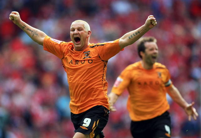 The English soccer player played for Hull City of the Premier League in 2008 and become the club's oldest scorer ever when he notched his final Premier League goal at age 39. Try saying his name without laughing.