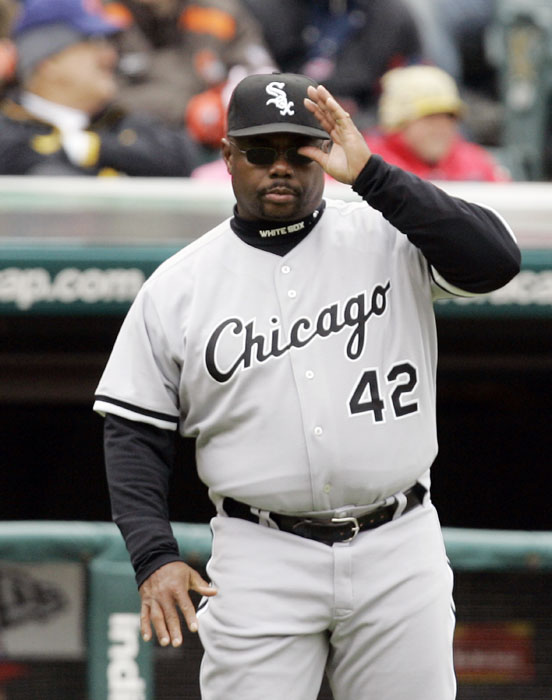 The long-time MLB first-basemen was also a base coach for the White Sox (2007) and Mets (2009-10).