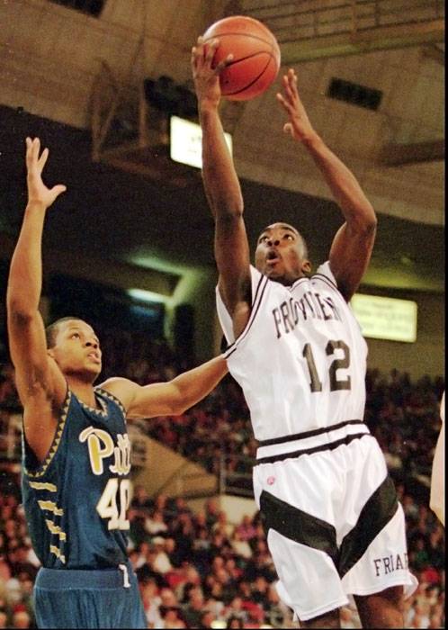 "The former Providence guard led the Friars to the Elite Eight in 1997, where they fell to eventual champion, Arizona. Shammgod briefly played in the NBA before heading overseas.   While at Providence, he was known as Shammgod Wells, but because he lacked the funds required for a legal name change, he had to stick with his birth name of ""God."" Why he wanted to get rid of that is beyond us."