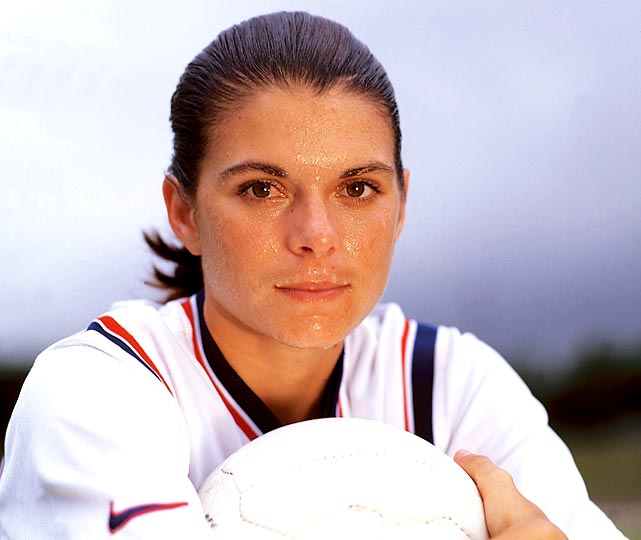 Mia Hamm celebrates her 40th birthday on Saturday. The UNC grad won four national championships with the Tar Heels as well as two Olympic gold medals, two World Cup titles and countless other accolades. Here are some rare photos of the soccer legend.