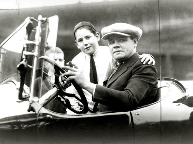 Ruth takes a car ride.
