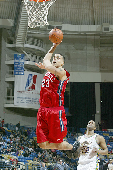 The current Clippers forward played in the D-League after graduating from UCLA, averaging 9.7 points and 3.3 rebounds in 50 games for the Fayetteville Patriots in 2002-03.