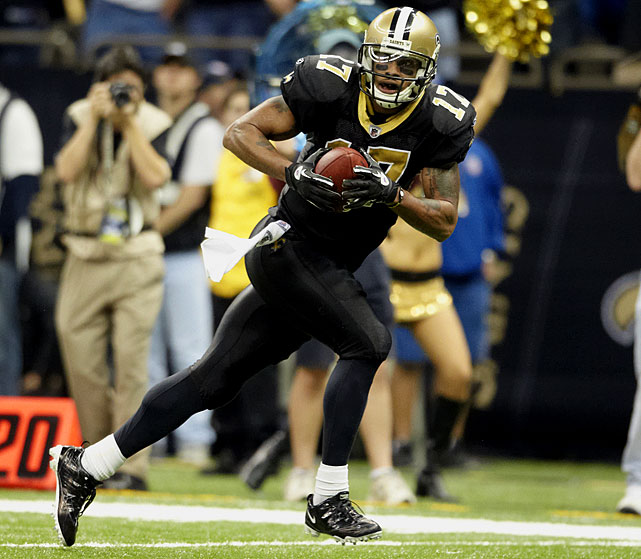 It didn't take the Chargers long to find Jackson's replacement, luring wideout Robert Meachem away from the Saints with a four-year, $25.9 million deal. The fifth-year receiver had 40 catches for 620 yards and six touchdowns last year in New Orleans.