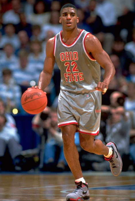 Jackson, a 6-6 shooting guard, played three years at Ohio State and was named first team All-America in 1991 and 1992. He had less stability as a pro, playing for a record-12 teams over his 14-year career.