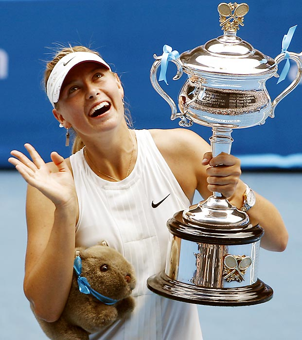 Sharapova was on the rise in 2008. She started the year ranked No. 5, then won 18 straight matches before Svetlana Kuznetsova defeated her in the Indian Wells final. Sharapova would go on to reach the top spot and win another title before a fateful shoulder injury required surgery and put her promising young career in a holding pattern.