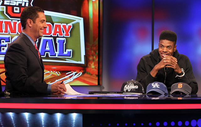 Heralded center Nerlens Noel followed suit, choosing between Georgetown, Kentucky and Syracuse...