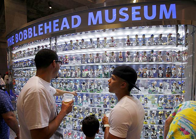 The Bobblehead Museuem contains 588 bobbleheads of players from different eras and all 30 teams.