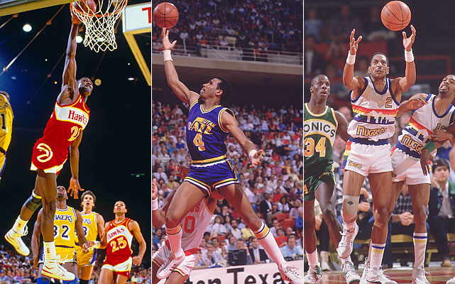 Wilkins capped his only scoring title with 34 points in the Hawks' last game. He finished with 30.33 points per game. Adrian Dantley (29.83) and Alex English (29.80) were held out of their head-to-head finale with injuries. Wilkins seized control of the close race anyway with a season-high 57 points in his next to last game, surpassing Dantley. Had they played, Dantley would have needed to outscore Wilkins by 35 points, and English needed 39.