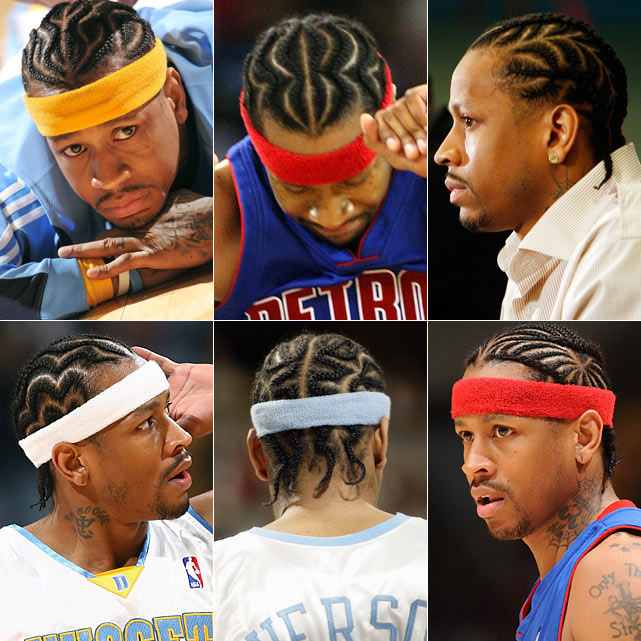A.I. may always be the NBA's king of cornrows. Here's why.
