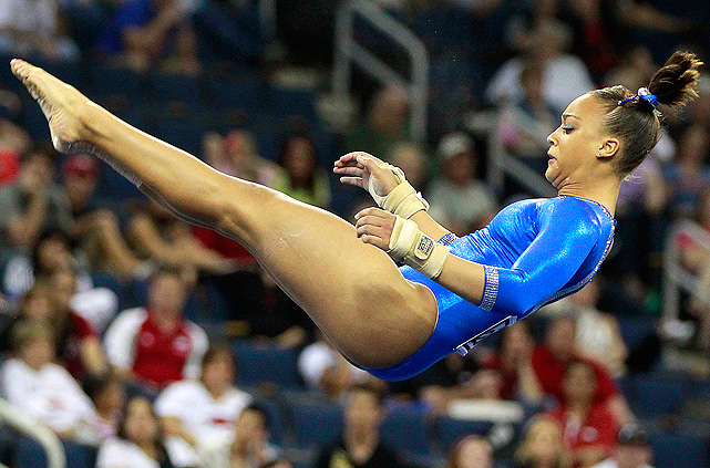 On April 20 - 22, the NCAA's best gymnasts jumped, flipped and spun with precision at the national championships in Duluth, Georgia. Florida freshman Kytra Hunter (pictured) won the all-around title, while Alabama walked away with their second straight team title. Here are some of the best shots of the gymnasts.