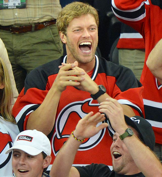 on sale 577b5 c6f7b Celebrities at the NHL Playoffs | SI.com