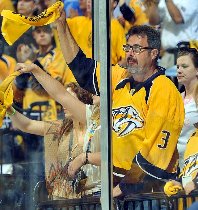 May 2, 2012 at Bridgestone Arena in Nashville, TN  Phoenix Coyotes vs. Nashville Predators  Game 3 of the Western Conference Semifinals