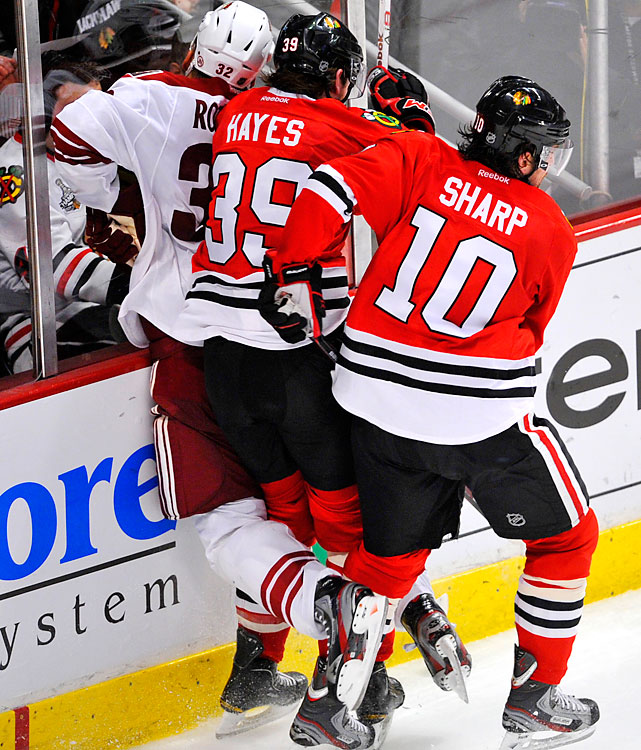April 23, 2012 at United Center Phoenix Coyotes vs. Chicago Blackhawks Game Six of the Western Conference Quarterfinals
