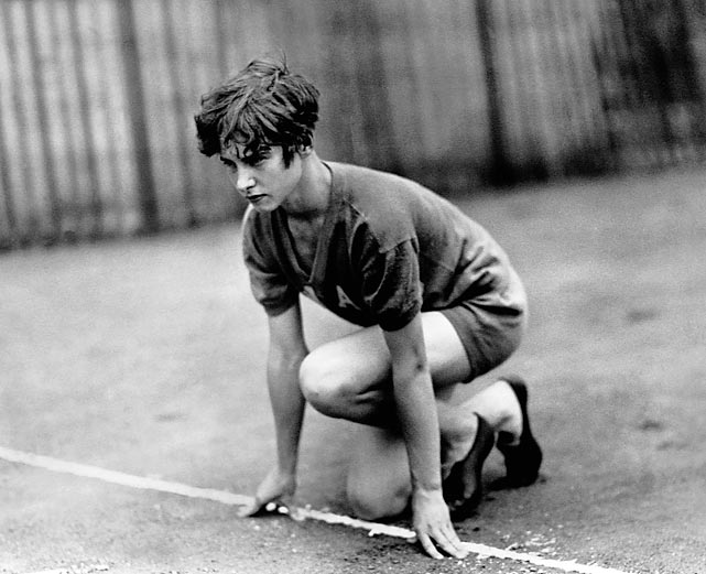 At the 1928 Olympics in Amsterdam, Betty Robinson won gold in the first-ever women's 100 meters. It was only the fourth time she had ever run the race. She also competed in the 4x100 relay and contributed to the U.S.'s silver-medal finish.