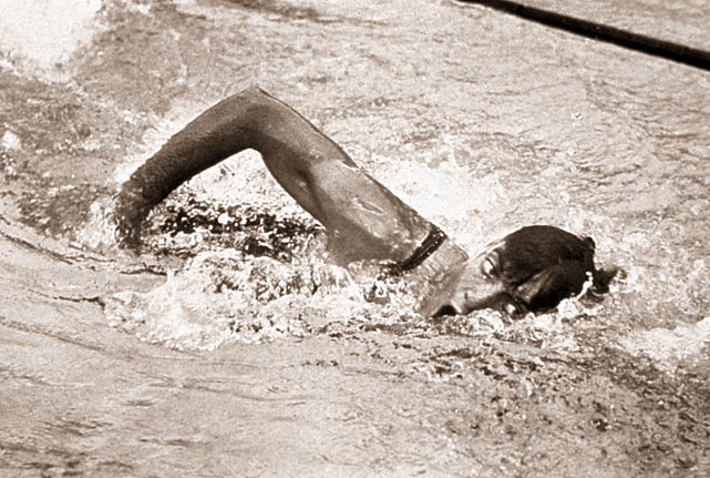 "Before he went on to a memorable Hollywood career, Johnny Weissmuller was the star of the 1924 Games. The man the  Associated Press  deemed the greatest swimmer of the half century won three golds in Paris (100-meter free, 400 free, 4x200 free relay) and even picked up a bronze in water polo. It was later revealed Weissmuller was born in Europe, not the U.S., but his legacy remains. ""He set those records, not any country,"" his wife Diane Weissmuller said. ""They're his, regardless of who claims him as a citizen."""