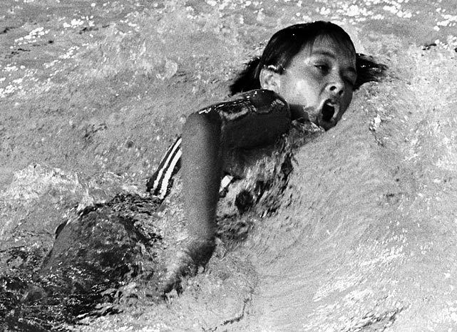 In a Games plagued by controversy, Debbie Meyer was a breath of fresh air. Meyer, a 16-year-old from Sacramento, Calif., won gold and set an Olympic record every time she jumped into the pool in Mexico City, starting with the 400-meter freestyle (4:31.8), then the 200 free (2:10.5) and finally the 800 free (9:24.0). She was the first swimmer to win three individual golds at an Olympic Games.