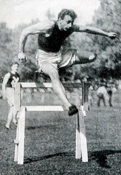 The first, and to this day only track and field athlete to win four individual Olympic golds at a Games, Alvin Kraenzlein was also a track and field innovator. Kraenzlein was the first athlete to employ the now-common hurdling technique of leading with a straight front leg, a technique that allowed him to overcome hurdles without sacrificing any speed. The Wisconsin native took home gold in the 60 meters and the long jump at the 1900 Games in Paris, and his groundbreaking technique led him to a gold in the 110 hurdles and the 200 hurdles.
