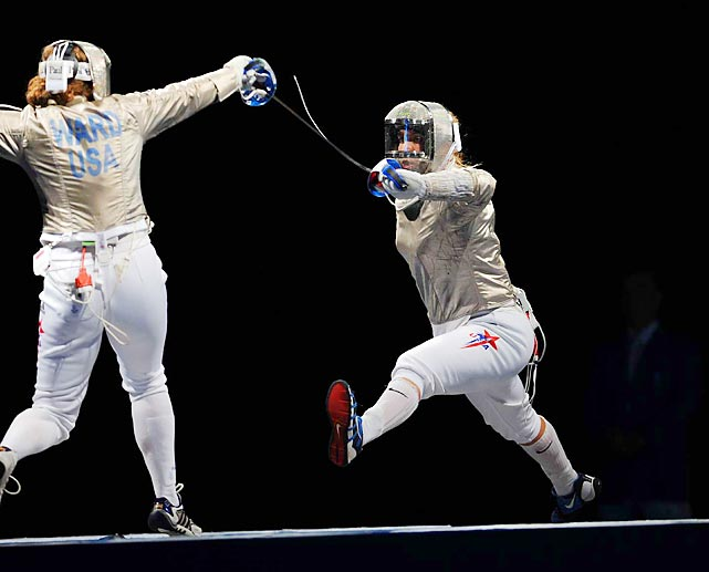 In 2004, Mariel Zagunis became the first American in 100 years to win Olympic fencing gold. Zagunis, the daughter of two former U.S. Olympians who didn't even originally qualify for the Games, defeated Chinese fencer Xue Tan in the finals 15-9 to capture gold.